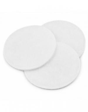 Белые ламинированные салфетки IGRObeauty, диаметр 5 см, 100 шт