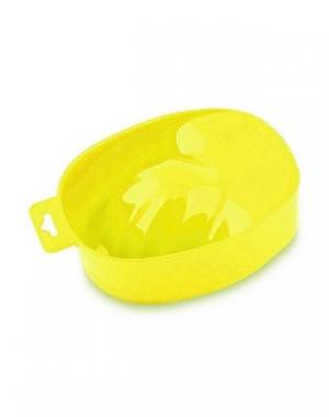 Ванночка для маникюра Domix, жёлтая