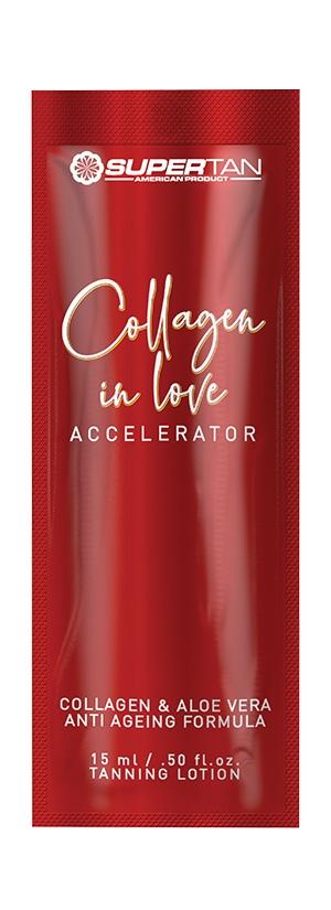 Лосьон активный ускоритель загара с коллагеном Supertan Collagen in Love, 15 мл.