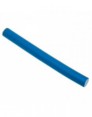 Бигуди - бумеранги Dewal, синие, 150 мм, диаметр 14 мм, 10 шт