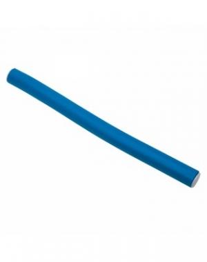 Бигуди - бумеранги Dewal, синие, 180 мм, диаметр 14 мм, 10 шт