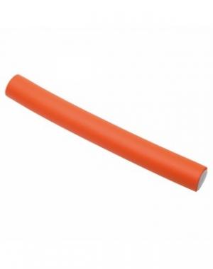 Бигуди - бумеранги Dewal, оранжевые, 150 мм, диаметр 18 мм, 10 шт
