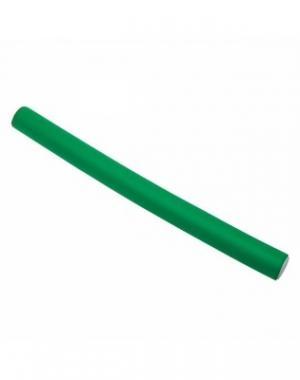 Бигуди - бумеранги Dewal, зелёные, 240 мм, диаметр 20 мм, 10 шт