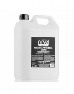 Питательный кондиционер с кератином и пантенолом Nirvel Professional Keratin & Panthenol Cream, 5000 мл