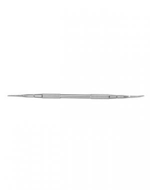 Лопатка маникюрная Пилка прямая и Пилка с загнутым концом Staleks, длина 161 мм