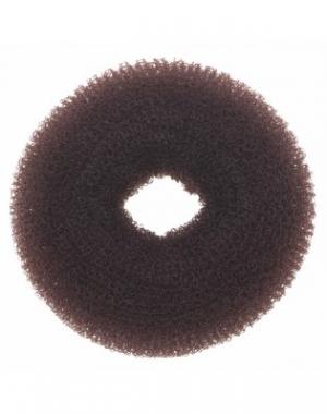 Валик для причёски Dewal ,сетка, коричневый, диаметр 8 см