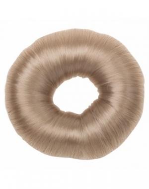Валик для причёски Dewal, искусственный волос, блондин, диаметр 8 см