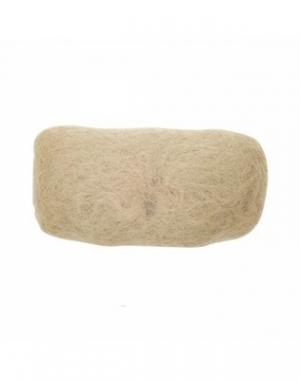 Валик для причёски Dewal, овал, блонд, 18х11 см