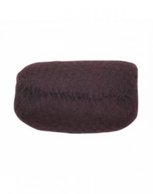 Валик для причёски Dewal, овал, тёмно-коричневый, 18х11 см