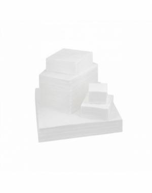 Салфетка 30*40 Белая, вафельная, 50гр/м2 в сложении (100 шт)