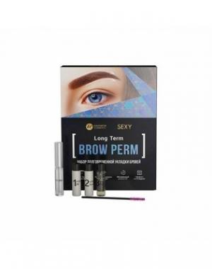 Набор долговременной укладки бровей Sexy Brow Henna «Sexy Brow Perm»