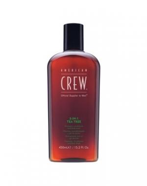 Средство для волос 3 в 1 American Crew чайное дерево, 450 мл