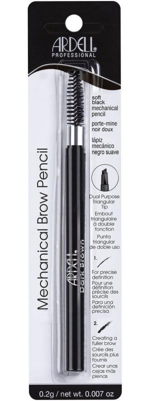 Влагостойкий механический карандаш для бровей (светло-черный) Ardell Mechanical Pencil pr (Soft Black)