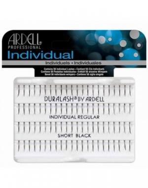 Пучки ресниц Ardell Duralash Individual Regular Short Black, индивидуальные, короткие, чёрные