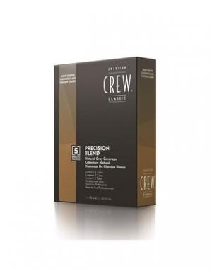 Камуфляж для седых волос American Crew Средний пепельный 5/6, 3 шт по 40 мл