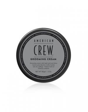 Крем сильной фиксации и с высоким уровнем блеска для укладки волос и усов American Crew Grooming Cream, 85 гр
