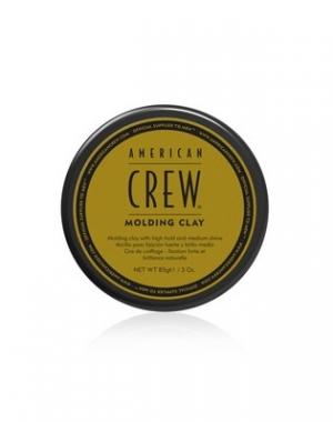 Формирующая глина сильной фиксации со средним уровнем блеска для укладки волос American Crew Classic Molding Clay, 85 гр