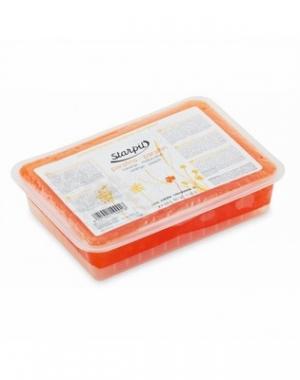 Горячий парафин Starpil, персико-апельсиновый, 500 гр