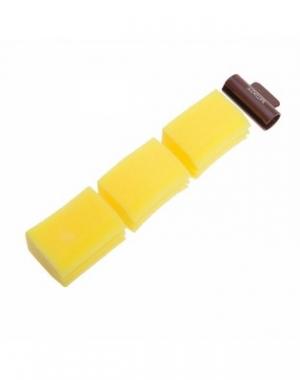Губка для перманентной завивки Dewal (держатель + 3 губки)