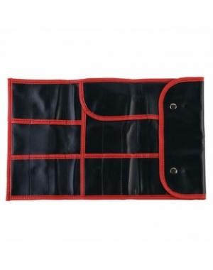Чехол для парикмахерских инструментов Dewal, полимерный материал, чёрный, 37х23 см