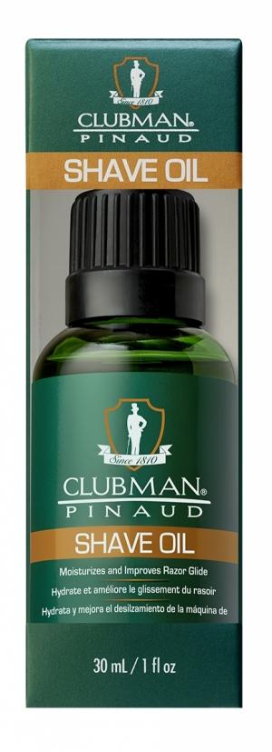 Натуральное масло для бритья Clubman Shave Oil, 30 мл