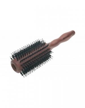Деревянный брашинг Dewal, натуральная щетина, диаметр 38/65 мм