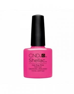 Гелевое покрытие CND Shellac Hot Pop Pink #91985, 7,3 мл
