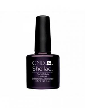 Гелевое покрытие CND Shellac Forbidden Dark Dahila #056 A, 7,3 мл