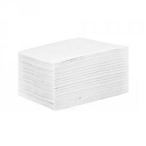 Простыня СМС 80 х 200 см. 15 г/м2  цвет белый (поштучное сложение), 25 шт