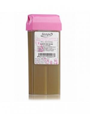 Тёплый воск в картридже Starpil, оливковый, 110 гр