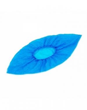 Бахилы полиэтиленовые IGRObeauty, гладкие, прочные, голубые, 4 гр, 50 пар