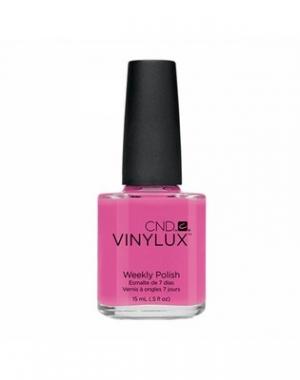 Профессиональный недельный лак CND Vinylux Hot Pop Pink #121, 15 мл