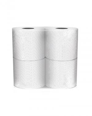 """Туалетная бумага """"IGROBEAUTY"""" 2-х слойн.б/аромата белая (4шт)"""