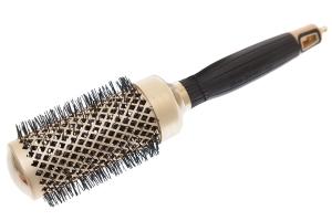 Термобрашинг для укладки волос керамический + ион NanoThermic GOLD 44мм OLIVIA GARDEN