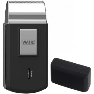 Мини-бритва Wahl Mobile shaver Akku 230V 50Hz black/silver