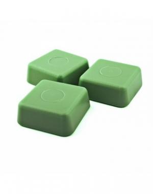 Горячий воск в брикетах Starpil, зелёный, 1000 гр