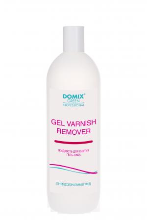 Средство для снятия гель-лака (шеллака) Domix Green Professional, Gel Varnish Remover, 1000 мл