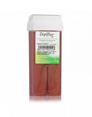 Тёплый воск в картридже Depilflax 100, лесные ягоды, 110 гр