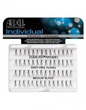 Пучки ресниц безузелковые средние чёрные нестандартныеArdell Duralash Naturals Knot-Free Flairs Medium Black