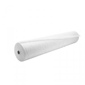 Простыня СМС 80см*200м.12 г/м2 цвет белый в рулоне с перфорацией (шаг 2 м), 100 шт