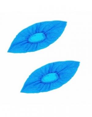 Бахилы полиэтиленовые Lab +, текстурированные, особо прочные, голубые, 6 гр, 50 пар