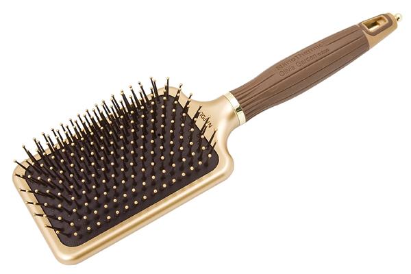 Щетка для волос широкая керамик + ион NanoThermic OLIVIA GARDEN