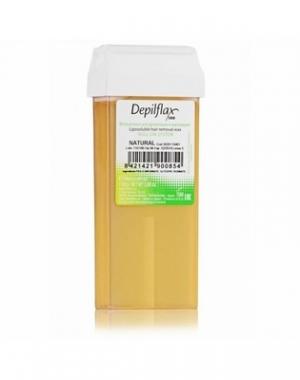 Тёплый воск в картридже Depilflax 100, натуральный 110 гр