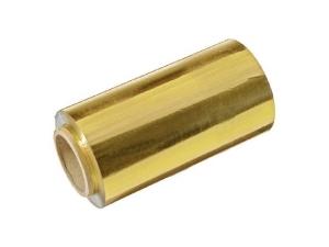 Фольга профессиональная IGRObeauty, золото, 16 мкр, ширина 12 см, 50 м