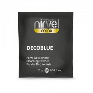 Блондирующий порошок Nirvel Professional Decoblue, синий, 15 гр