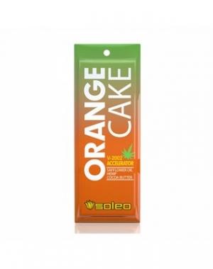 Интенсивный усилитель загара с экстрактом конопли Soleo Orange Cake, 15 мл