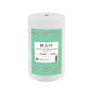 Полотенце спанлейс в рулоне IGRObeauty, 45х90 см, пл. 50 г/м2, белое, 100 шт