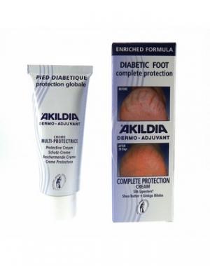 Защитный крем для стопы Akileine АкилДиа, 75 мл
