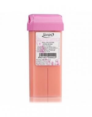 Тёплый воск в картридже Starpil, розовый, 110 гр