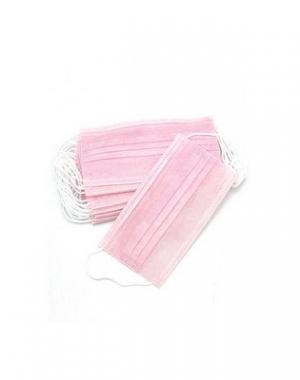 Маска медицинская Archdale, 3-х слойная, розовая, 50 шт